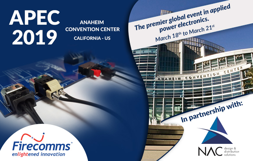 Firecomms exhibiting at APEC 2019